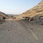 Baraj yolunda 145 kiloluk patlayıcı bulundu