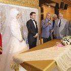 Arınç ve Akdoğan nikah şahidi oldu