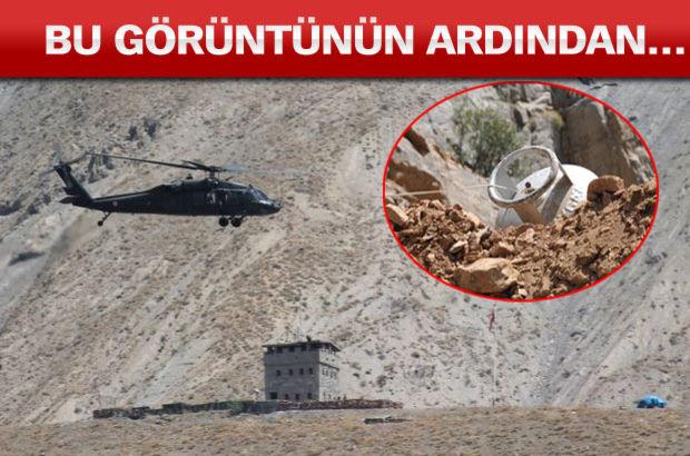 Havadan ve karadan büyük operasyon!