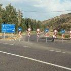 Kağızman-Karakurt karayolu kapatıldı