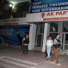 Diyarbakır'da AK Parti binası yakınına ses bombası