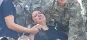 Şehit Uzman Çavuş Ali Gökçe'nin cenazesinde gözyaşı sel oldu