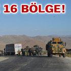 """Ağrı ve Tendürek dağları,  """"Geçici Askeri Güvenlik Bölgesi"""" ilan edildi"""