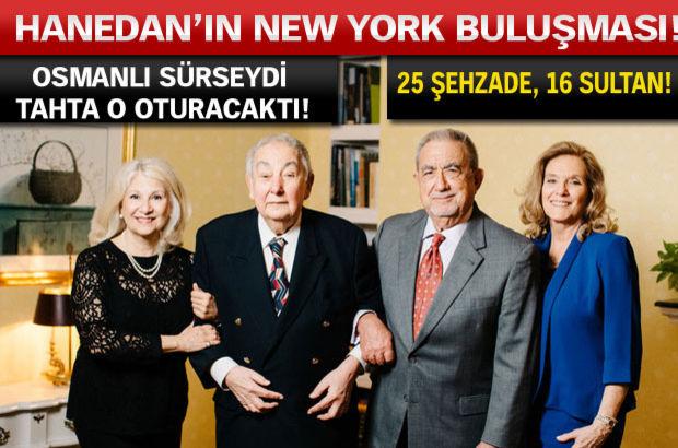 Amerika, Osmanlı hanedanı, Sultan Abdülmecid Han, Şehzade Osman Bayezıd Efendi