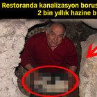 Tuvalette 2 bin yıllık hazine buldu