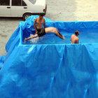 Sıcaktan bunalan inşaat işçileri bakın ne yaptı!