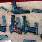 Samsun'da polis 17 tabanca, 5 av tüfeği, 33 bıçak ele geçirdi