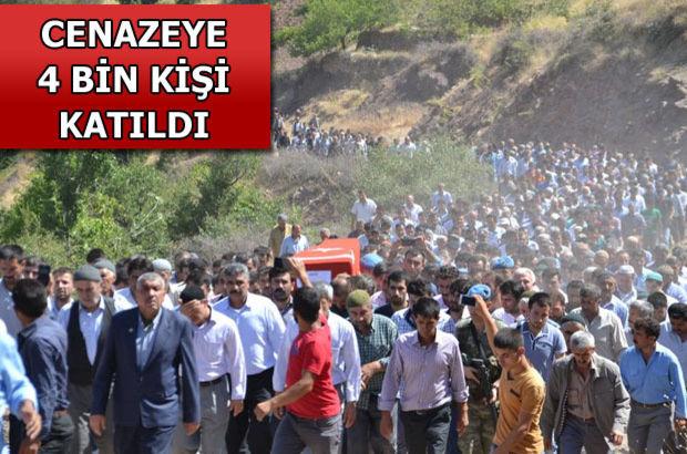 Şehit Mansur Cengiz'e Kürtçe ağıtlarla son görev...
