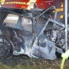 Yanan araçtan kurtardığı kişi, ikiz kardeşi çıktı