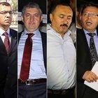 Tutuklu 4 savcı Ankara'da