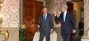 Kerry ve Lavrov Doha'da