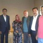 AK Parti heyeti, kaçırılan polis memuru Sedat Yabalak'ın eşini ziyaretti