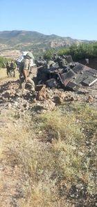 PKK'nın Bitlis'teki askeri araca mayınlı  saldırısı kamerada!