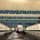 İsveçli Demokratlar Partinin reklamı İsveç'i karıştırdı