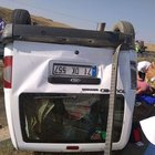 Otomobille hafif ticari araç çarpıştı; 1 bebek öldü, 9 yaralı