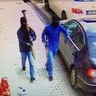 Yüksekova'da emniyet binasına saldırısı kameralara yakalandı