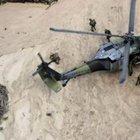 Kolombiya'da askeri helikopter düştü