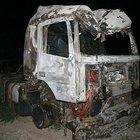 Erzurum'da teröristler 3 TIR'ı ateşe verdi