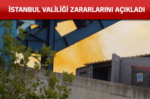 İstanbul'da kimyasal sızıntı alarmı!