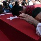 Şırnak'ta şehit olan Jandarma Uzman Çavuş Mehmet Acar gözyaşlarıyla uğurlandı