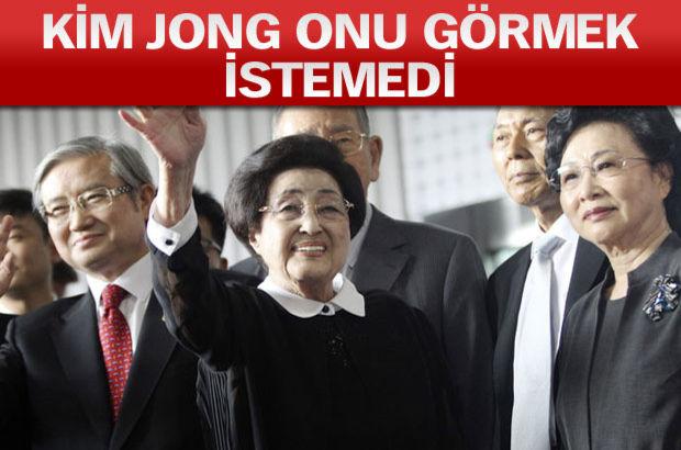 Eski first Lady'den Kuzey Kore'ye tarihi ziyaret