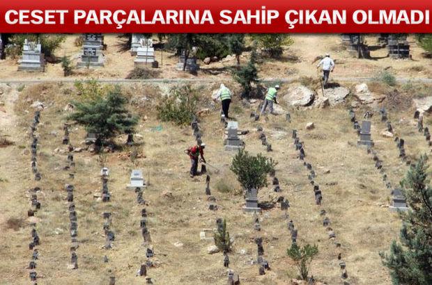O isim Kimsesizler Mezarlığı'na defnedildi