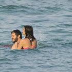 Nehir Erdoğan ve eşinin Çeşme tatili