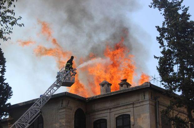Neşet Efendi Knonağı Kilis Müzesi yangın