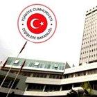Dışişleri Bakanlığı, ABD konsolosluğuna yapılan saldırıyı kınadı