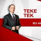Fatih Altaylı ile Teke Tek, bu akşam Habertürk TV'de