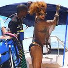 Rihanna tatilde