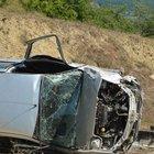 Sinop'ta otomobil takla attı: 1 ölü, 1 yaralı