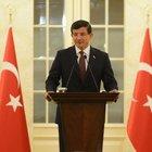 Başbakan Davutoğlu, Irak Kürt Bölgesel Yönetimi'nden gelen gazetecileri kabul etti
