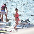 Hande Soral ve Tugay Mercan'ın tatilin tadını çıkarıyor