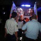 Mersin'deki gösteride emniyet müdür yardımcısı yaralandı