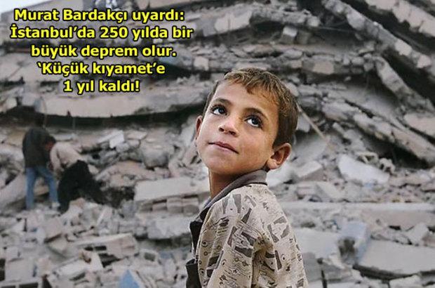 Murat Bardakçı uyardı: İstanbul'da 250 yılda bir büyük deprem olur. 'Küçük kıyamet'e 1 yıl kaldı!