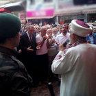 Şehit Ahmet Çamur'un cenaze törenine Cumhurbaşkanı Erdoğan da katıldı