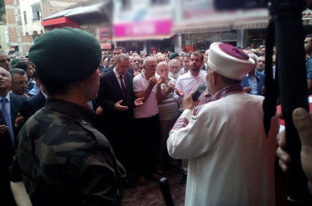 Şehit Ahmet Çamur, Cumhurbaşkanı Recep Tayyip Erdoğan, Trabzon