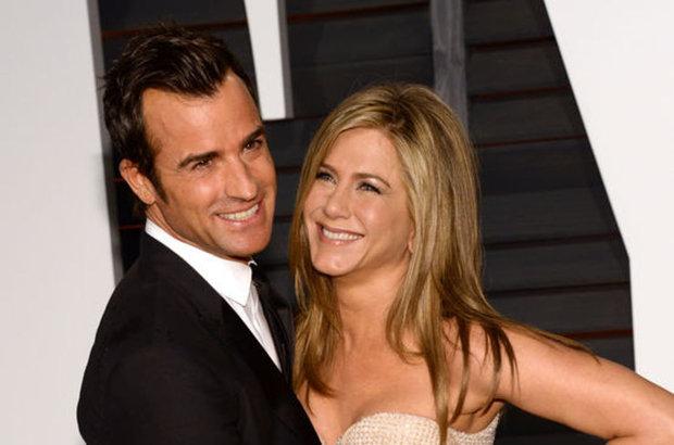 Jennifer Aniston ve Justin Theroux balayında