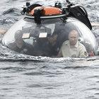 Vladimir Putin Karadeniz'e daldı!