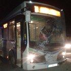 Şanlıurfa'da belediye otobüsüne molotoflu saldırı