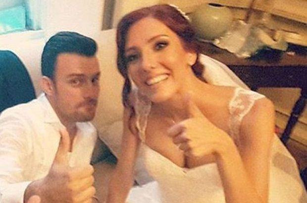 Salih Bademci İmer Özgün evlendi