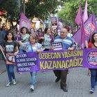 Eskişehir'de kadınlar 'Özgecan Yasası' için yürüdü