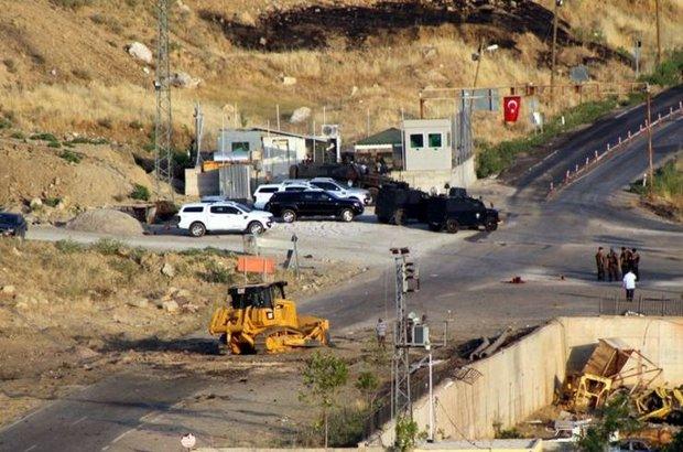 PKK,Şırnak,Polis noktası,
