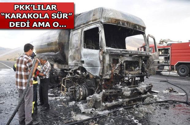 Ağrı,PKK,yol kesme,Hava destekli operasyon,