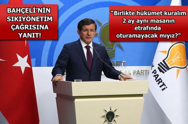Ak Parti Ahmet Davutoğlu, Kemal Kılıçdaroğlu, Devlet Bahçeli, Tekrar seçim, Erken seçim