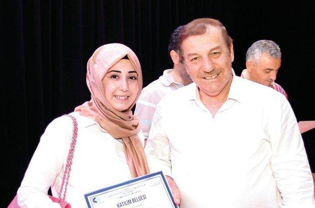 Eğitimli girişimci sertifika töreni