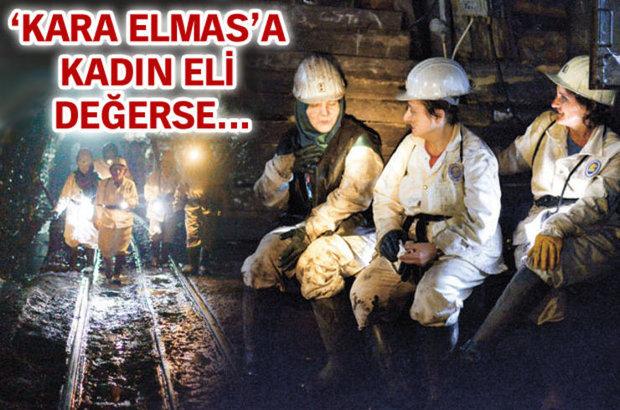 Zonguldak, kadın madenciler