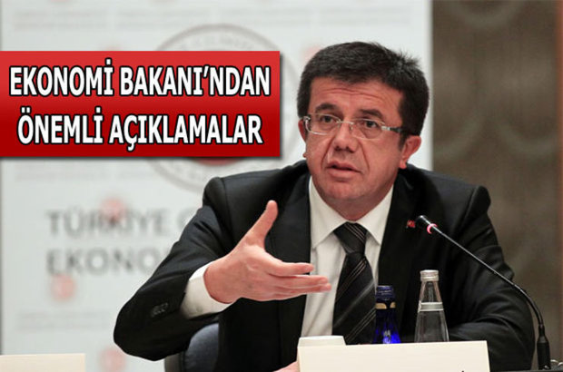 Ekonomi Bakanı Nihat Zeybekci'den kriz açıklaması