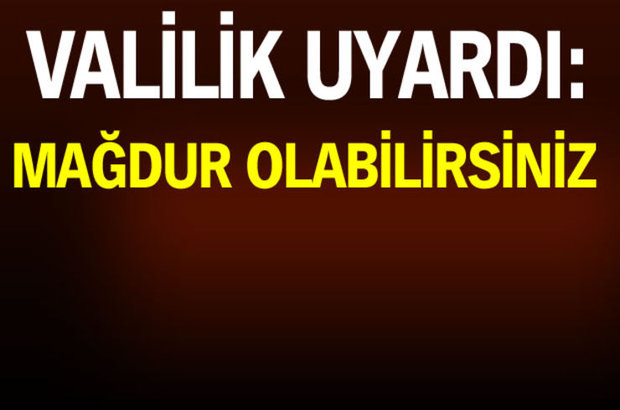 İstanbul Valiliği uyardı: O araziler hazineye ait